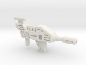 SZT003F Hook's Blaster in White Natural Versatile Plastic