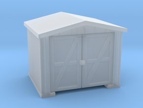 Shack - N 160:1 Scale in Smooth Fine Detail Plastic