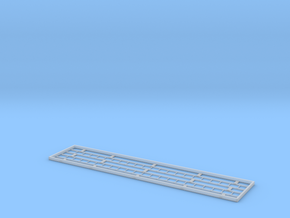 """Signal Ladders 7mm Scale 2 x 21' X 12"""" in Smooth Fine Detail Plastic"""