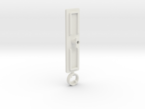IIgs Port Cover (51mm) in White Strong & Flexible
