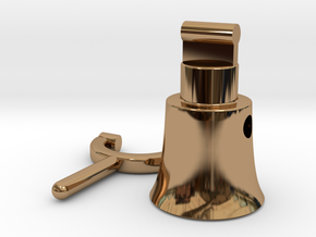 Megaphone 2 in Polished Brass