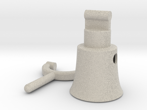 Megaphone 2 in Natural Sandstone