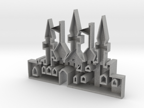 mold of an oriantal city in Aluminum