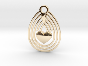 Egg & Love in 14K Yellow Gold