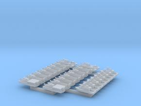 1/1200 Scale Vietnam Riverine Division in Smooth Fine Detail Plastic