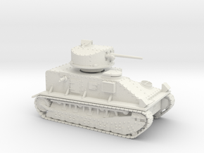 Vickers Medium Mk.II (20mm) in White Natural Versatile Plastic