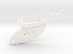 Poroze Saab in White Processed Versatile Plastic