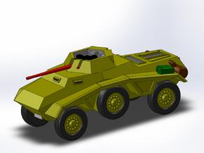 Le Panzerspähwagen 4-Rad trop MG 1/285 6mm in Smooth Fine Detail Plastic