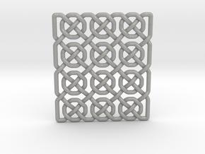 0514 Celtic Knotting - Ibain Grid [p49] in Aluminum