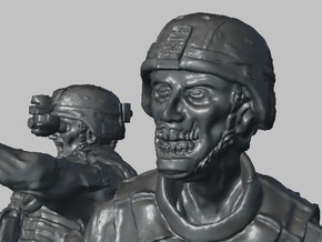 1-32 Military Zombie Set 5 in Frosted Ultra Detail
