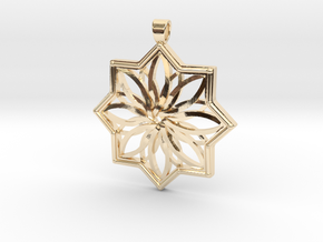 PENDANT 6 in 14K Yellow Gold