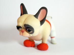 Frenchie Balboa  in Full Color Sandstone