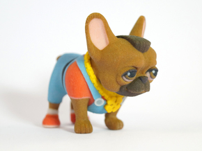 Mr. T Frenchie in Full Color Sandstone
