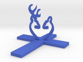Cross&Deer Small in Blue Processed Versatile Plastic