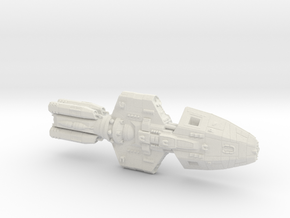 Ageus ship in White Natural Versatile Plastic