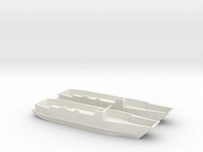 1/350 LCU1610 - Landing Craft Utility (x2) in White Natural Versatile Plastic