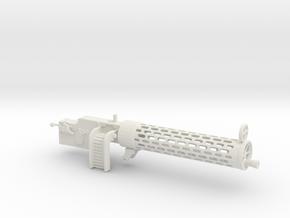 Spandau gun   1/8 in White Natural Versatile Plastic