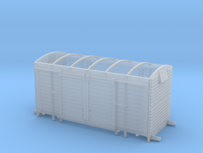 BR/LMS 12 ton Pallet Van body, no roof - 4mm scale in Frosted Ultra Detail