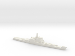 Aegis and VLS refitted Long Beach, 1/1250 in White Natural Versatile Plastic