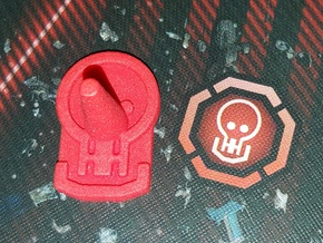 Reaver Base in Red Strong & Flexible Polished