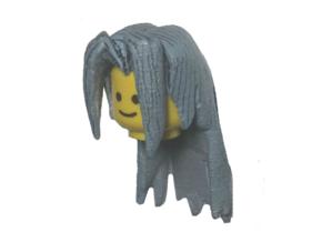 Custom Sephiroth Inspired Lego in White Strong & Flexible