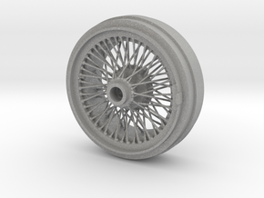 1/8 Wire Wheel Rear, with 72 spokes in Aluminum