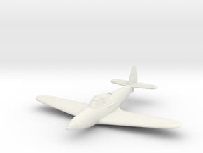 1/200 Bell XFL-1 Airabonita in White Natural Versatile Plastic