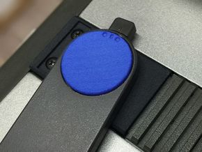 SX-64 Handle Cap in Blue Processed Versatile Plastic