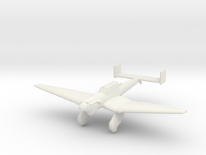 1/200 Junkers Ju 87 v1 in White Natural Versatile Plastic