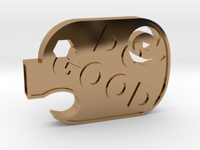 DoGood Pig in Polished Brass