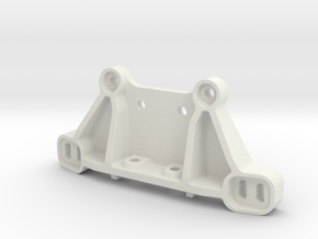 0031 - Dyna Storm D3 Shock Tower Mount in White Natural Versatile Plastic