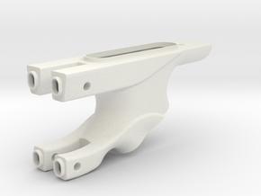 P40 Grip 1 in White Natural Versatile Plastic