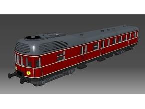 Dampftriebwagen DT59 DRG in Smooth Fine Detail Plastic