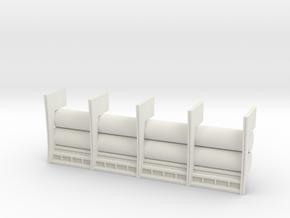 De Agostini MILLENNIUM FALCON WALL SECTION in White Natural Versatile Plastic
