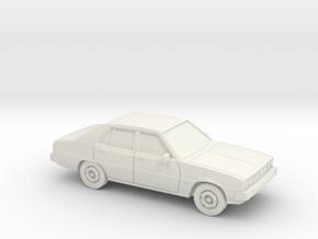 1/87 1978 Mitsubishi Galant Sedan in White Strong & Flexible