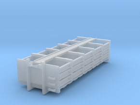 Abrollcontainer Sandsack 1:87 in Smooth Fine Detail Plastic