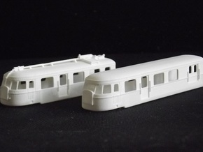 A150d2 Articule - Nm - 1:160 in Smooth Fine Detail Plastic