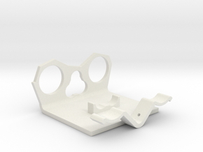 Power Cell Bracket #4 in White Natural Versatile Plastic