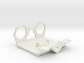 Power Cell Bracket #4 in White Natural Versatile Plastic