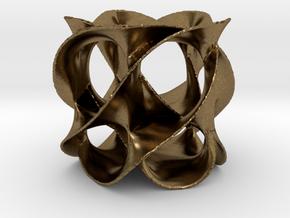 Calabi-Yau in Raw Bronze