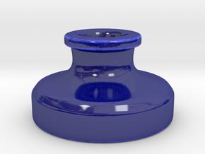 Inkwell Artist's Tablet Pen Holder in Gloss Cobalt Blue Porcelain