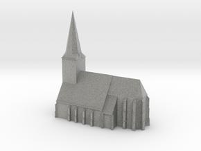 De Grote Kerk van Epe in Metallic Plastic