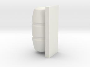 1/72 Life Raft Container in White Natural Versatile Plastic