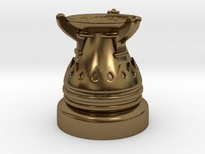 28mm Egyptian Cauldron  in Polished Bronze