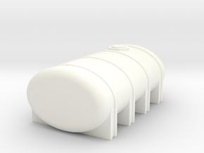 2350 Leg Tank in White Processed Versatile Plastic