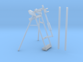 Drill Rod Holder Stand 1:16 in Smooth Fine Detail Plastic