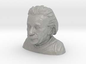Einstein Bust in Aluminum