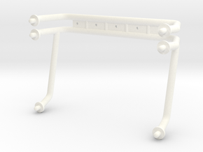 ROLLBAR, USA-1 in White Strong & Flexible Polished