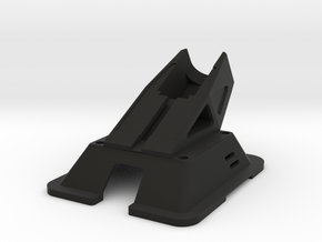 Black Bolt XBR - Action Cam Mount/ fpv canopy in Black Natural Versatile Plastic