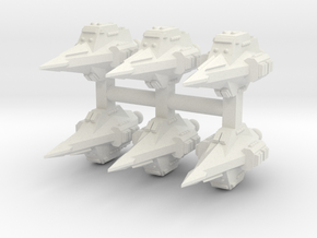 JAL003 Arrifek Assault Shuttle in White Strong & Flexible
